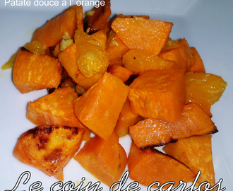 Patate douce à l'orange
