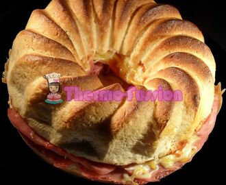 ROSCA DE PAN RELLENA EXPRES THERMOMIX TM31 Y FUSSIONCOOK TOUCH ADVANCE O FUSSIONCOOK PLUS+ O HORNO TRADICIONAL