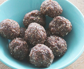 Recept: Bliss balls