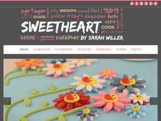 SweetHeart by Sarah Willer | Faire goûter, faire plaisir