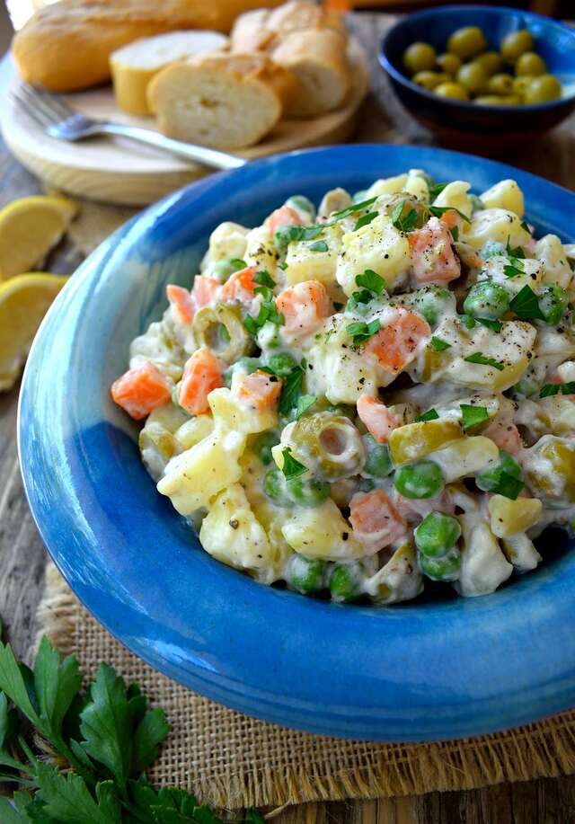 Spanish Potato Salad (Ensaladilla Rusa)