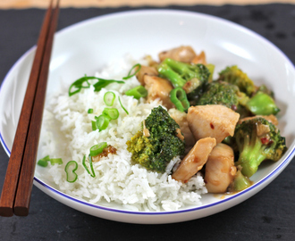 recipe: Chicken and Broccoli Stir-Fry