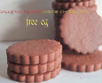 GALLETAS PERFECTAS DE CHOCOLATE  SIN HUEVO (RECETA INFALIBLE PARA DECORAR)