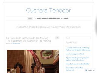 cuchara at tenedor