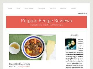 Filipino Recipe Review