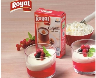 Vasitos de Cuajada y Gelatina con Royal®