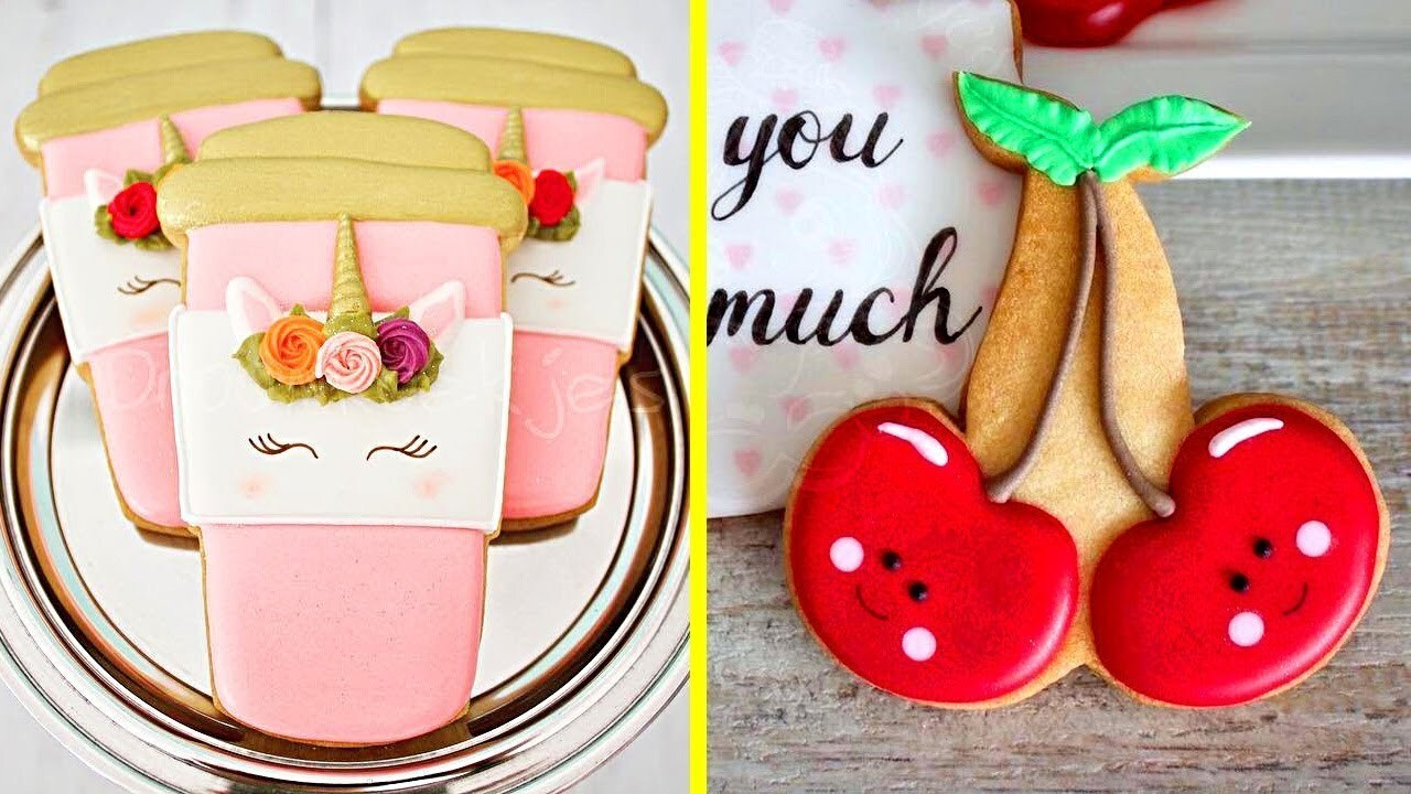 Top 15 Easy Birthday Cookies Decorating Ideas In The World | Best Yummy Cookies 2018