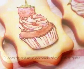 Cómo decorar galletas con la tecnica Wet on Wet {Tutorial}