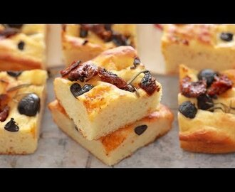 Crazy Dough Focaccia - Gemma's Crazy Dough Bread Series Ep 5