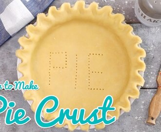 How to Make Pie Crust - Gemma's Bold Baking Basics Ep  26