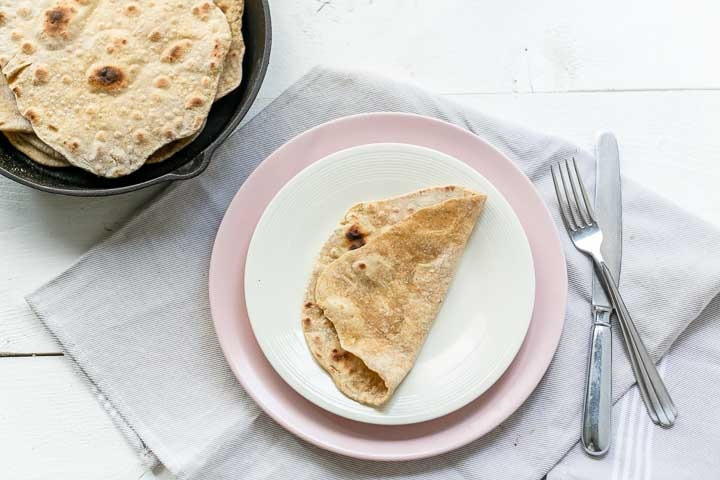 Moroccan Flatbread With Spices