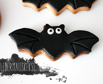 Halloween Sweet Table: Fledermaus & Kürbiskekse