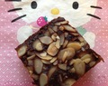 Chocolate and Almond Brownies - Gluten free and low #FODMAP