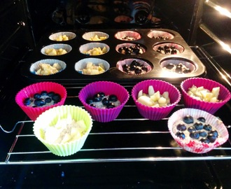 "Low Carb Muffins ""Studentenfutter"""