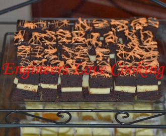 KEK COKLAT LAPIS CREAM CHEESE /  CREAM CHEESE LAYERED CHOCOLATE CAKE