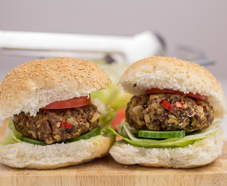 Homemade Quorn Burgers