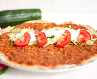 LowCarb Lahmacun (türkische Pizza)