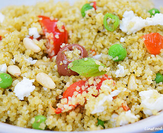 Pesto Couscous Salad – easy lunchbox recipe for kids and adults!