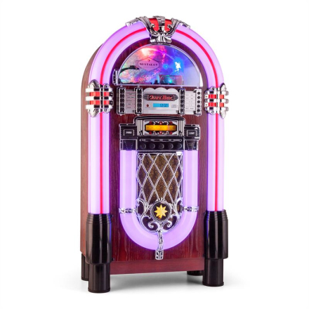 Graceland XXL BT Jukebox Bluetooth USB SD AUX CD FM/AM