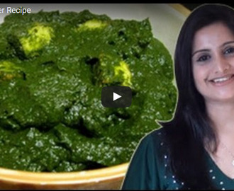 Palak Paneer Recipe Video
