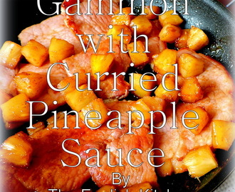Curried Pineapple Glazed Gammon Steaks