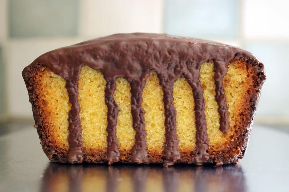 Gluten free chocolate orange drizzle cake recipe