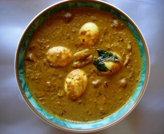 Kerala Mutta Curry (Egg Curry)