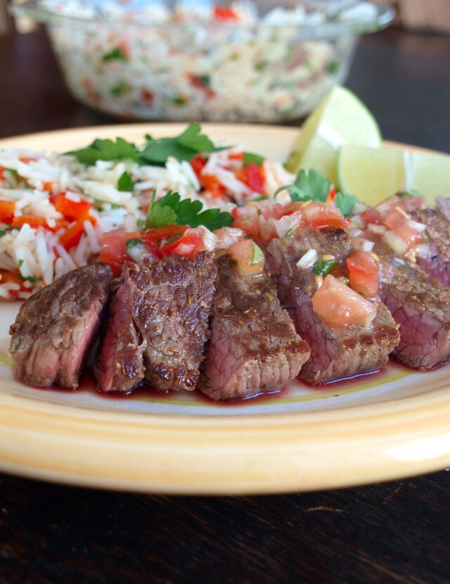 Steaks with the Mexican Twist | Steki w Meksykańskim stylu