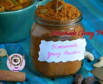 Homemade Gravy Powder | Ready To Eat Multipurpose Curry Powder | Storable   - By Food Connection