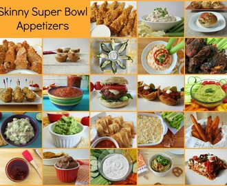 Skinny Super Bowl Appetizers #HolidayDetox