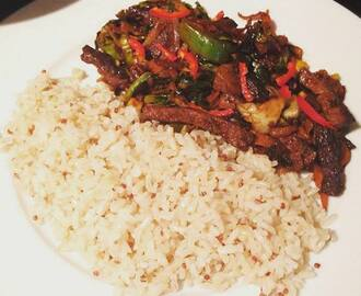 Ginger Beef Stir Fry Recipe...