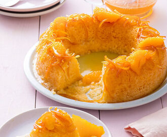 Gâteau citron-orange comme un baba de Christophe Adam