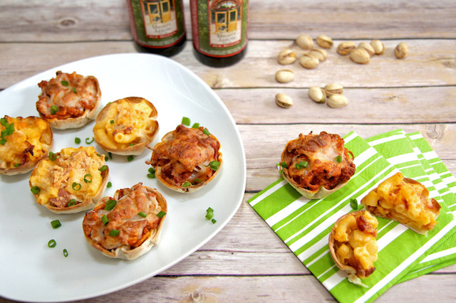 Superbowl Game Day Appetizers: Lasagna or Bacon Mac and Cheese Cups