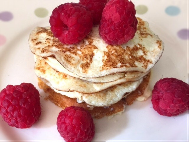 Cream Cheese Pancakes – Low Carb & Gluten Free
