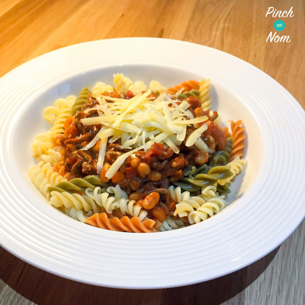 Syn Free Baked Bean Bolognese | Slimming World