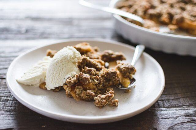Apple crisp pie - Plant-baked
