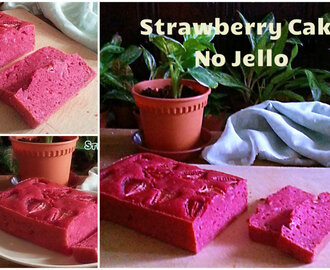 STRAWBERRY CAKE NO JELLO RECIPE