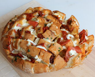 Pizza Stuffed Bread