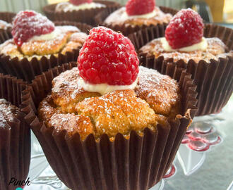 1 Syn Raspberry and White Chocolate Muffins | Slimming World