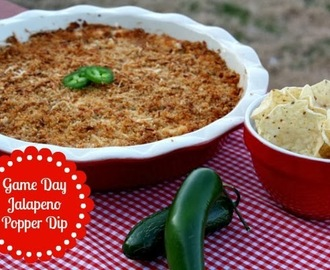 Jalapeno Popper Dip {Game Day Eats}