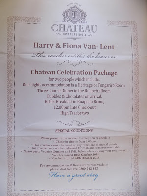 60th Bithday - Part three -The Chateau (part 1)