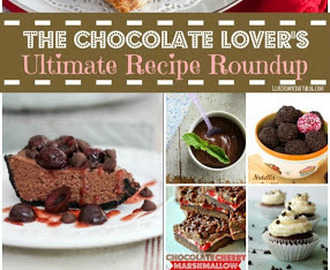 The Chocolate Lover's Ultimate Recipe {Roundup}