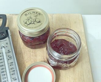 Damson and Redcurrant Jam