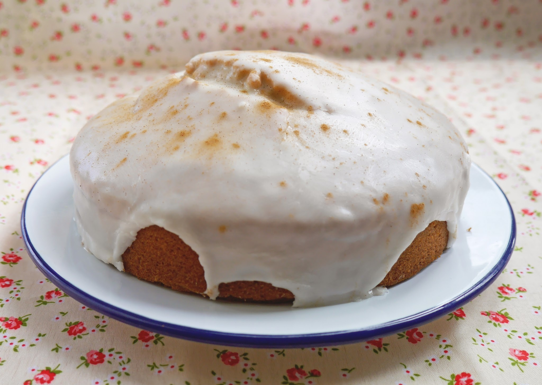 Spiced Orange Madeira Cake