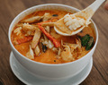 Creamy Coconut and Crab Soup