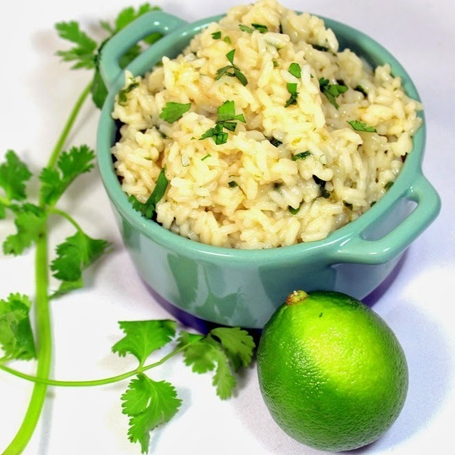Cilantro Lime Rice - 52 Church PotLuck Side Dish