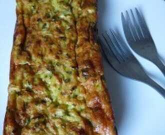 Cake/Flan aux courgettes de weight watchers