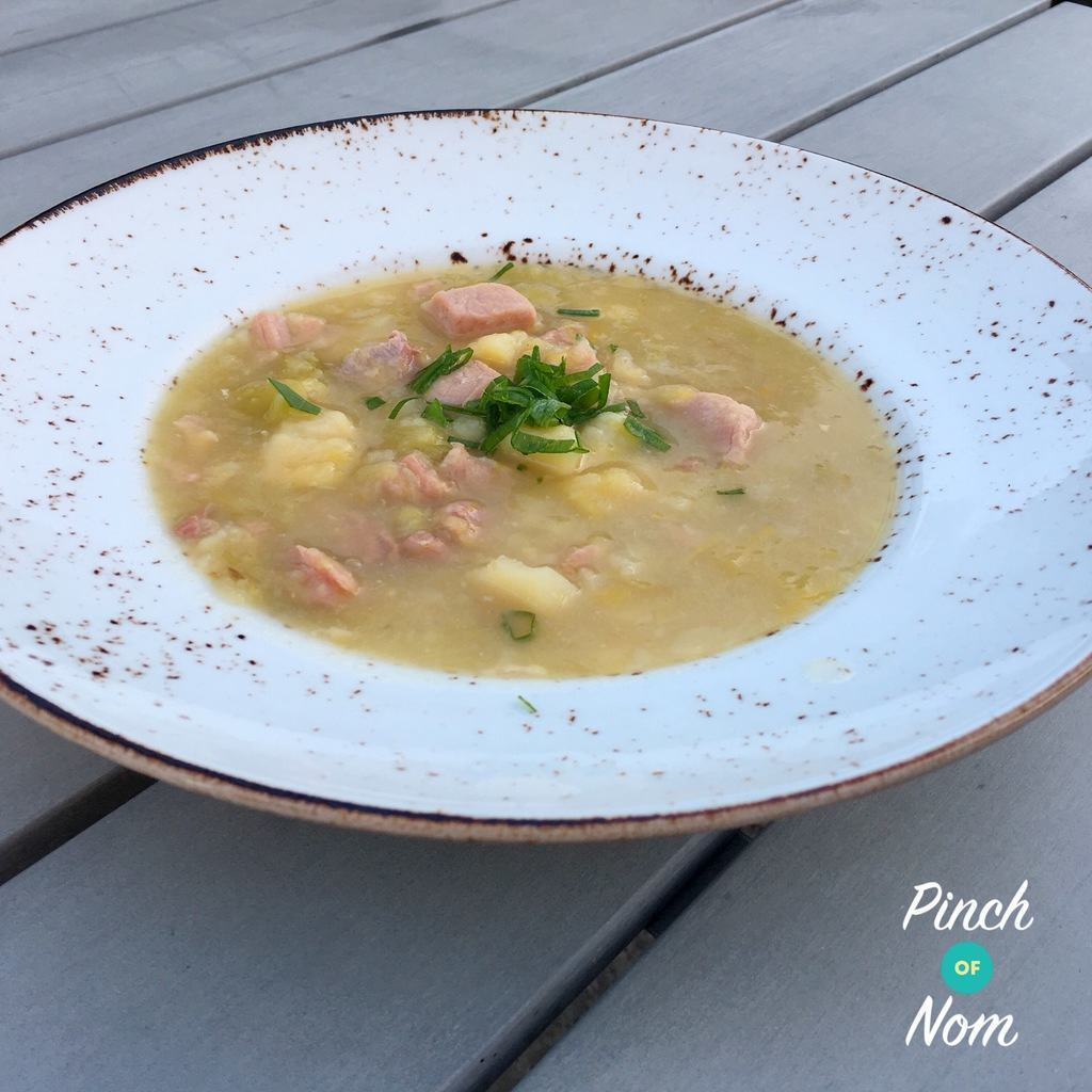 Slow Cooker Syn Free Ham, Leek and Potato Soup | Slimming World