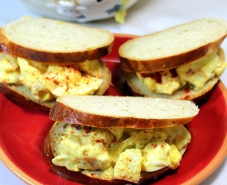 Egg Salad - Goin' Old School - 52 Church PotLuck Dishes
