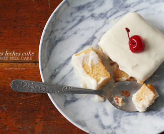 Alton Brown's Tres Leches Cake